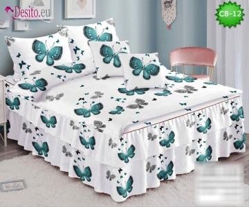 Спално бельо от 100% памук, 6 части, с код C8-12
