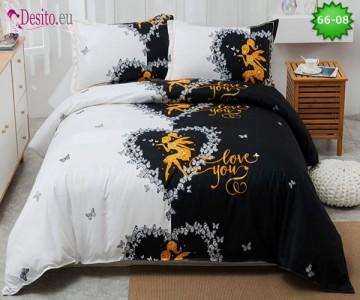 Спално бельо от 100% памук, 4 части с код 66-08