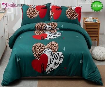 Спално бельо от 100% памук, 4 части с код 66-09