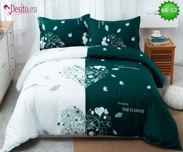 Спално бельо от 100% памук, 4 части с код 66-12