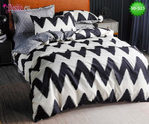Двулицево спално бельо от 100% памук, 4 части с код 50-523