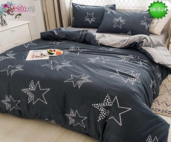 Двулицево спално бельо от 100% памук, 4 части с код 50-524