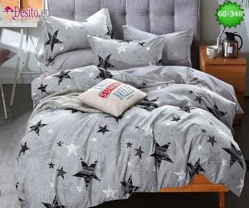 Спално бельо от 100% памук, 6 части, двулицево с код 60-348