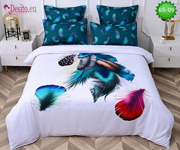 Спално бельо от 100% памук, 6 части с код 65-09