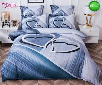 Спално бельо от 100% памук, 6 части с код 65-17