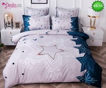 Спално бельо от 100% памук, 6 части с код 65-19