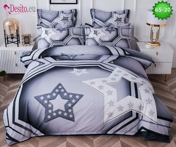 Спално бельо от 100% памук, 6 части с код 65-20