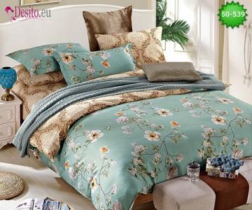 Двулицево спално бельо от 100% памук, 4 части с код 50-539