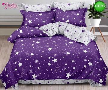 Спално бельо от 100% памук, 6 части и чаршаф с ластик с код GT-93