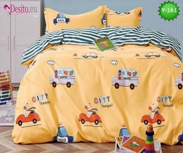 Единично спално бельо, 4 части, 100% памук с код Y-161