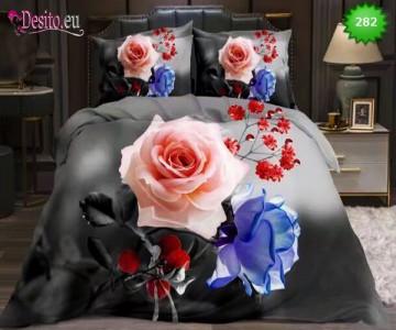 5D спално бельо с код 282