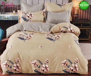 Спално бельо от 100% памук, 6 части, двулицево с код M3-250