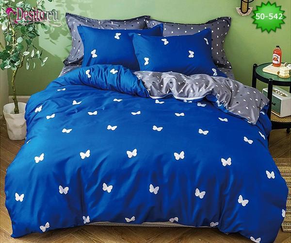 Двулицево спално бельо от 100% памук, 4 части с код 50-542