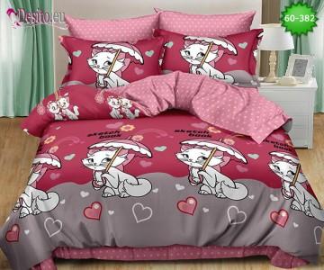 Спално бельо, 100% памук, 6 части с код 60-382