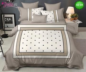 Спално бельо от 100% памук, 6 части с код A2-04